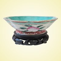 An Early Chinese Export Scalloped Bowl C1750-1850