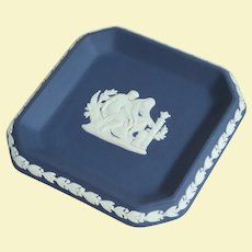 Attractive Royal Blue Wedgwood Trinket Dish