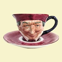 Unusual Occupied Japan Toby Cup and Saucer