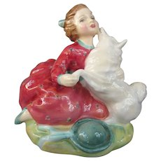 Colorful Royal Doulton Fine China Figurine Home Again HN2167