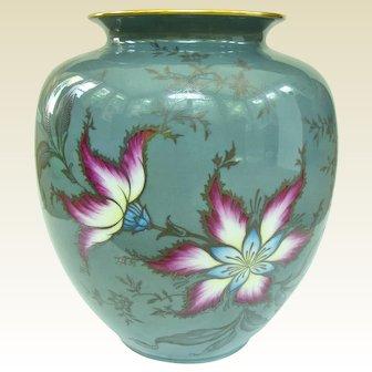 Rare Selb Bavaria Germany Heinrich and Company Viola Pattern Vase