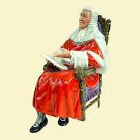 Royal Doulton Figure The Judge 1972-1996 HN2443