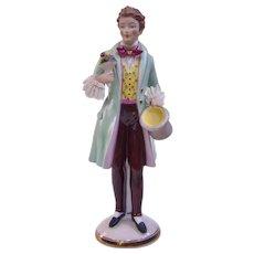A Vintage Dresden Dandy Figure