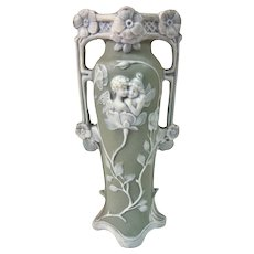 A Unique Small French Art Nouveau Pixie Vase