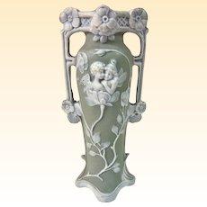 A Unique Small French Art Nouveau Pixie Vase