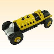 Restored Hubley #22 Die Cast Toy Race Car