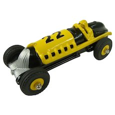 Restored Hubley #22 Die Cast Toy Race Car