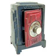 Champion Heater Thrift Bank Toy Safe Circa 1930