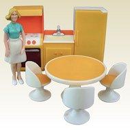Vintage Fisher-Price Kitchen Dollhouse Set 1970s