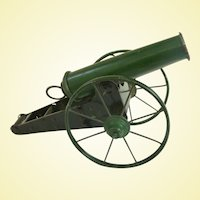 A Rare Vintage Toy Marble Shooting Cannon