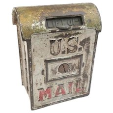 A Nice A.C. Williams Cast Iron U.S. Mail Penny Still Bank