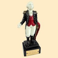 George Washington Cast Iron Still Bank 5th Annual Mechanical Bank Collectors 1962
