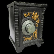 Old Cast Iron and Sheet Steel Toy Safe Bank