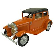1960s Hubley 1930-31 Ford Model A Victoria Die Cast Model Car