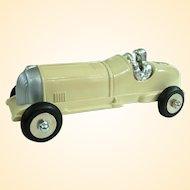 Vintage Hubley Number 5 Diecast Race Car Restored