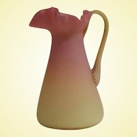 Vintage Venetian Art Glass Ewer 1970s