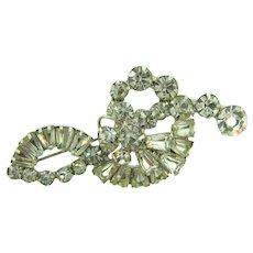 Vintage Juliana (D&E) crystal rhinestone Brooch