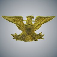 Vintage early patriotic eagle Scatter Pin