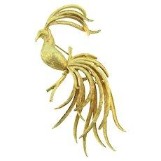 Vintage Avon elegant gold tone Brooch