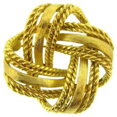 Signed Boucher 8098P Celtic knot Brooch