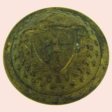 Marked Scovill Mfg Co. Waterbury Massachusetts Button