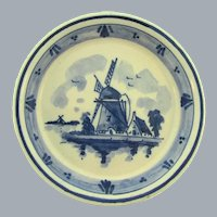 Marked Delft small hanging pottery Plate