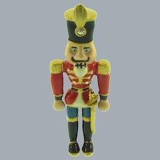 Signed MT figural nutcracker/toy soldier Brooch