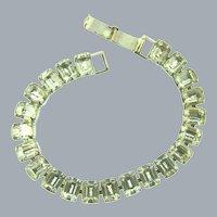 Vintage crystal rhinestone tennis Bracelet