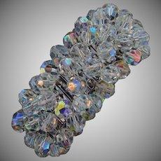 Marked Japan crystal bead Cha Cha expansion bracelet