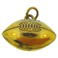 Vintage 1947 RAHS Carlton Larson football pendant