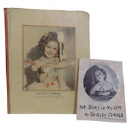 """18"""" Ideal Shirley Temple Doll Composition Book & Story"""