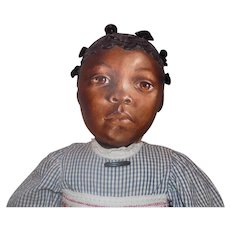 Large Artist Black Barbara Buysse Bysse Doll Johnna Art Doll