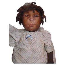 Great Artist Doll Barbara Bysse Buysse Johnna Art Doll Black Cloth