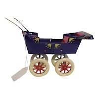Vintage Tucher and Walther Doll Stroller Buggy MIB LE 61/200
