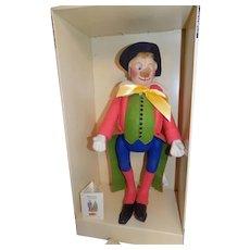 Cloth Felt Steiff Clown Doll Noso NMIB