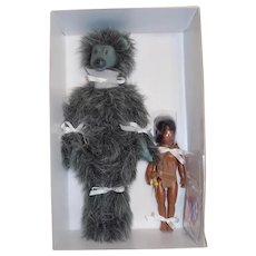 BALOO & MOWGLI, doll Helen Kish MIB Jungle Book Riley Doll Mold