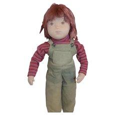 "Sasha Studio Course Cloth Doll 20"" Vintage All Original"