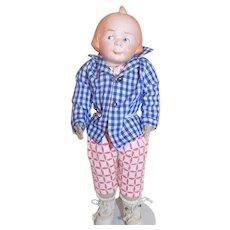 Antique German Moritz Max Bisque Head Doll