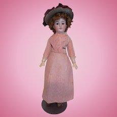 """Antique 19"""" Simon & Halbig 1159 Lady Fashion Flapper Doll Antique Clothes"""