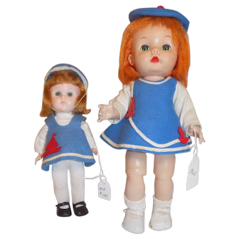 1960 Vogue BKW Ginny Doll Wee Imp Tagged Outfit