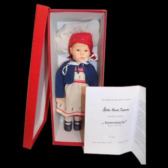 LE500 Kathe Kruse Doll 2003 MIB AnneMarie #97