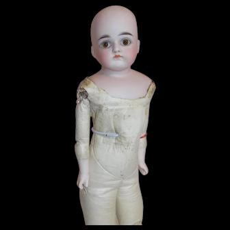 Antique German Kestner Closed Mouth Doll G Turned Shoulder