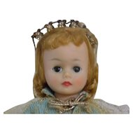 Vintage Madame Alexander Cissette Sleeping Beauty Doll
