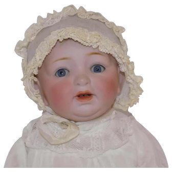 "Antique 13"" German Kestner 211 Character Baby Doll"