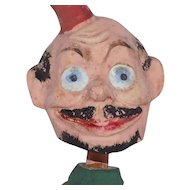 Old German Comic Character Nodder Bobble Head Doll