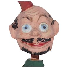 Old German Comic Character Nodder Bobble Head Doll
