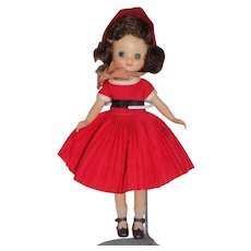 Vintage 1958 Betsy McCall Doll Holiday dress