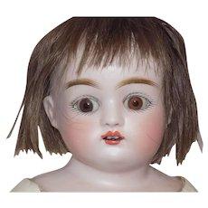 Antique German Kestner Turned Shoulder Head Doll Marked J