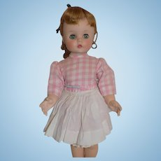 """Vintage Doll Madame Alexander Edith, The Lonely Doll Original Tag 15"""" 1950's"""