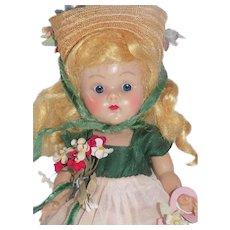 Vintage Vogue Ginny Strung Doll Blond 1953 Pamela